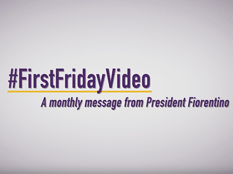 video: #FirstFridayVideo - May 2019