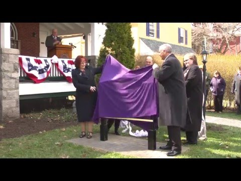 video: Unveiling of the Greg and Sandra Weisenstein Veterans Center Sign